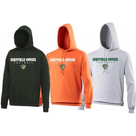 Sheffield Vipers - Text Logo Hoodie