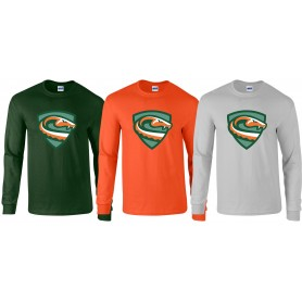 Sheffield Vipers - Full Logo Performance Long Sleeve T Shirt