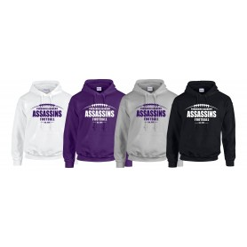 Yorkshire Academy Assassins - Laces Logo Hoodie