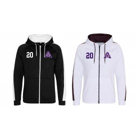 Yorkshire Academy Assassins - Embroidered Sports Performance Zip Hoodie