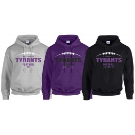 Manchester Tyrants - Laces Logo Hoodie