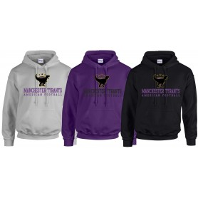 Manchester Tyrants - Text Logo Hoodie