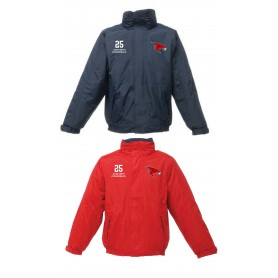 Kent Falcons - Customised Embroidered Heavyweight Dover Rain Jacket