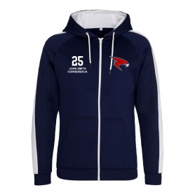Kent Falcons - Embroidered Sports Performance Zip Hoodie