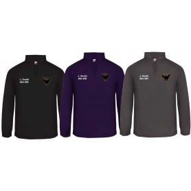 Manchester Tyrants - Custom Embroidered 1/4 Zip Poly Fleece Pullover
