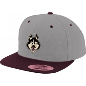 Shropshire Huskies Ice Hockey - Embroidered Logo 2 Tone Snapback