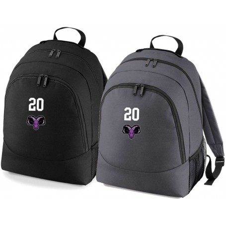Yorkshire Academy Rams - Custom Embroidered Backpack