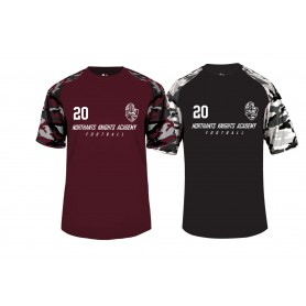 Northants Knights Academy - Printed Camo Performance T Shirt