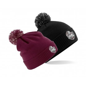 Northants Knights Academy - Embroidered Bobble Hat