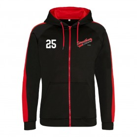 Streatham Youth Ice Hockey Club - Embroidered Sports Performance Zip Hoodie