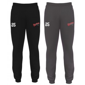 Streatham Youth Ice Hockey Club - Badger Embroidered Cuff Joggers