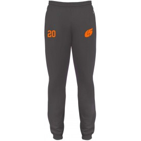 London Smoke - Badger Embroidered Cuff Joggers