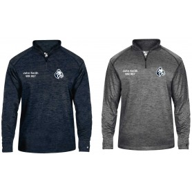 BU Bobcats - Embroidered Tonal Blend Sport 1/4 Zip