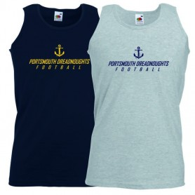 Portsmouth Dreadnoughts Women - Anchor Text Logo Vest