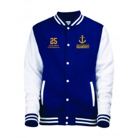 Portsmouth Dreadnoughts Women - Custom Embroidered Anchor Logo Varsity Jacket