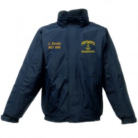 Portsmouth Dreadnoughts Women - Anchor Logo Embroidered Heavyweight Dover Rain Jacket
