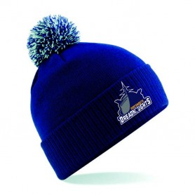 Portsmouth Dreadnoughts Women - Embroidered Ship Logo Bobble Hat