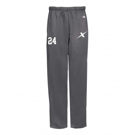 Kent Exiles - Players Embroidered Badger Open Bottom Joggers
