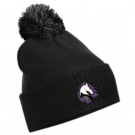 Embroidered Bobble Hat