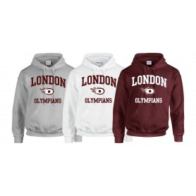 London Olympians - Olympians Football Logo Hoodie