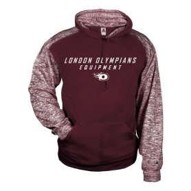 London Olympians - Printed Text Logo Sport Blend Hoodie