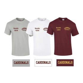 Ipswich Cardinals - Customised Training T-Shirt