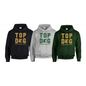 Bangor Mud Dogs - Top Dog Logo Hoodie