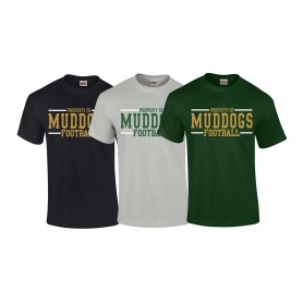 Bangor Mud Dogs - Text Logo 2 T-Shirt