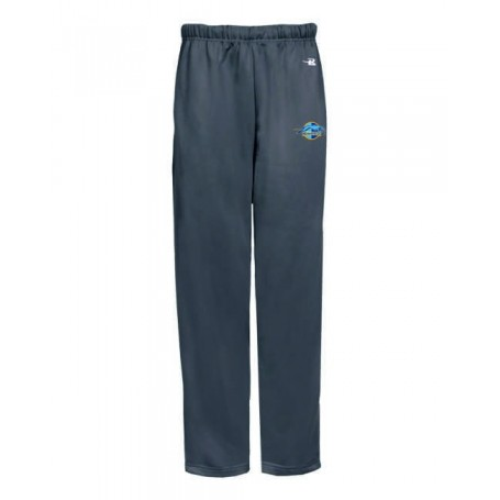 Hellingly Hound Dogs - Embroidered Badger Open Bottom Joggers
