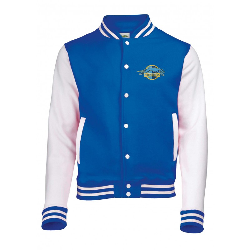 Hellingly Hound Dogs - Player Number Embroidered Varsity Jacket