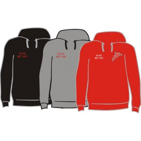 Solent Redhawks - Customised Embroidered Hoodie