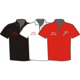 Solent Redhawks - Customised Embroidered Polo Shirt