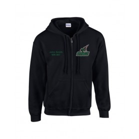 HACL Stags - Embroidered Zip Hoodie