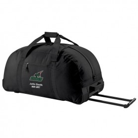 HACL Stags - Custom Embroidered Wheelie Holdall