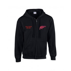 HACL Raptors - Custom Embroidered Zip Hoodie