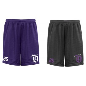 Durham Saints - Custom Embroidered Mesh Shorts