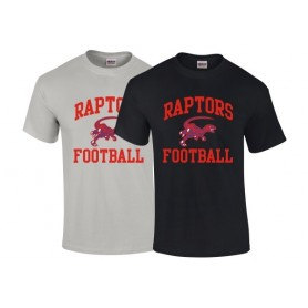 HACL Raptors - Football Logo T-Shirt