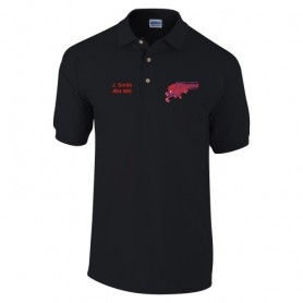 HACL Raptors - Embroidered Polo Shirt