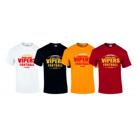 Donegal Derry Vipers - Laces Logo T-Shirt