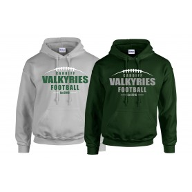 Cardiff Valkyries - Laces Logo Hoodie