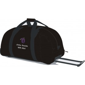 Durham Saints - Custom Embroidered Wheelie Holdall