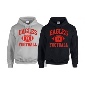 HACL Eagles - Custom Ball Logo Hoodie 1