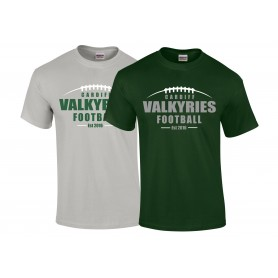 Cardiff Valkyries - Laces Logo T-Shirt