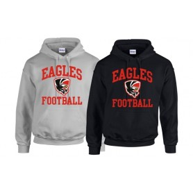 HACL Eagles - Football Logo Hoodie