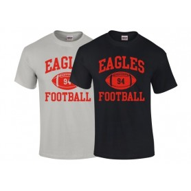 HACL Eagles - Custom Ball Logo T-Shirt 1