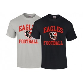 HACL Eagles - Football Logo T-Shirt