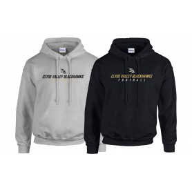 Clyde Valley Blackhawks - Text Logo Hoodie
