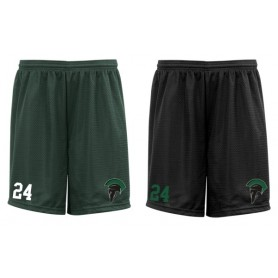 AFC Spartans - Custom Embroidered Mesh Shorts