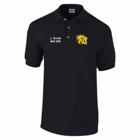 Glasgow University Tigers - Embroidered Polo Shirt