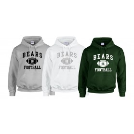 Nottingham Bears - Custom Ball Logo 1 Hoodie